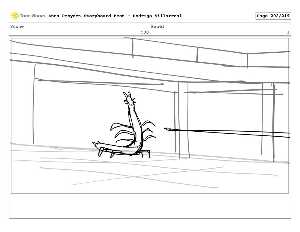 Scene 530 Panel 1 Anna Proyect Storyboard test ...