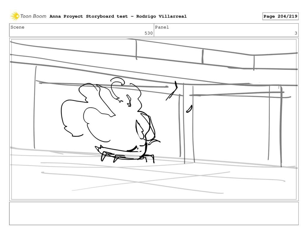 Scene 530 Panel 3 Anna Proyect Storyboard test ...