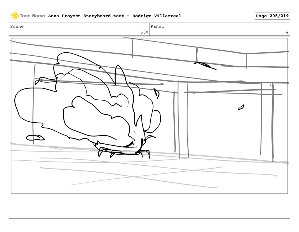 Scene 530 Panel 4 Anna Proyect Storyboard test ...