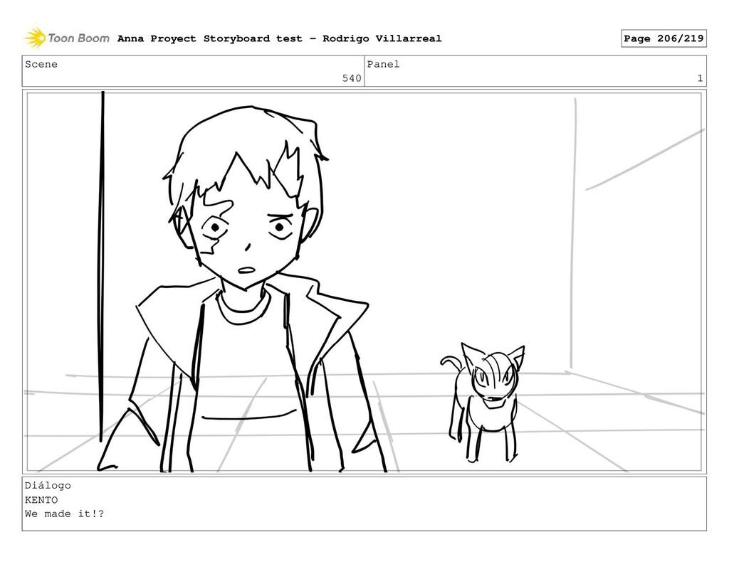 Scene 540 Panel 1 Diálogo KENTO We made it!? An...