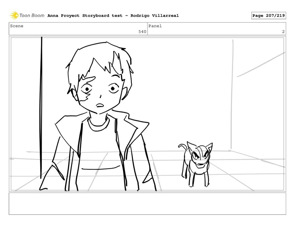 Scene 540 Panel 2 Anna Proyect Storyboard test ...