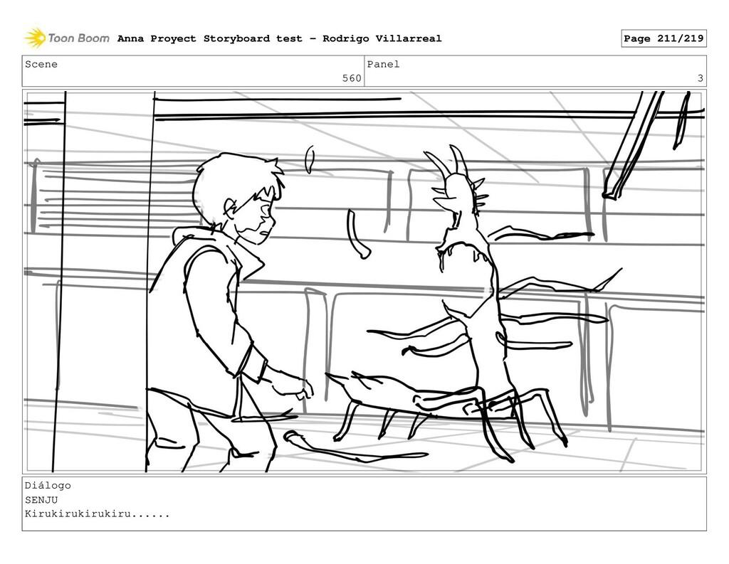 Scene 560 Panel 3 Diálogo SENJU Kirukirukirukir...