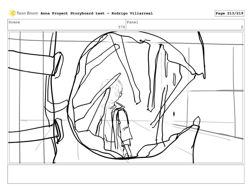 Scene 570 Panel 2 Anna Proyect Storyboard test ...