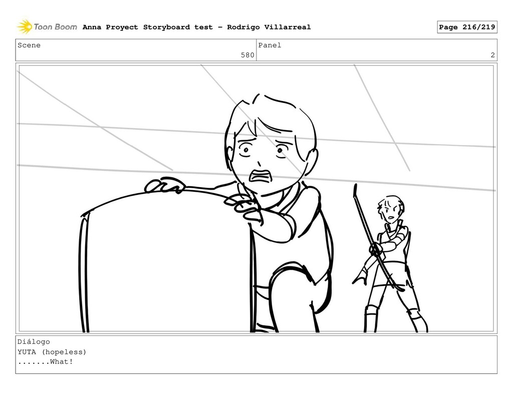 Scene 580 Panel 2 Diálogo YUTA (hopeless) ........