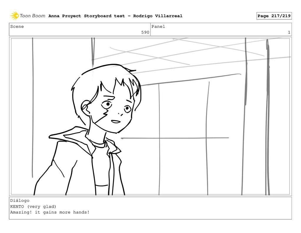 Scene 590 Panel 1 Diálogo KENTO (very glad) Ama...