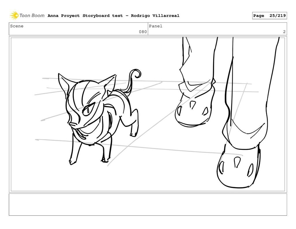 Scene 080 Panel 2 Anna Proyect Storyboard test ...