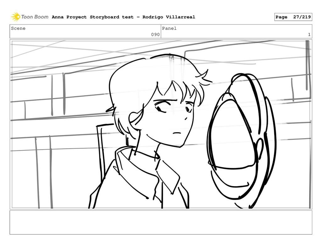 Scene 090 Panel 1 Anna Proyect Storyboard test ...