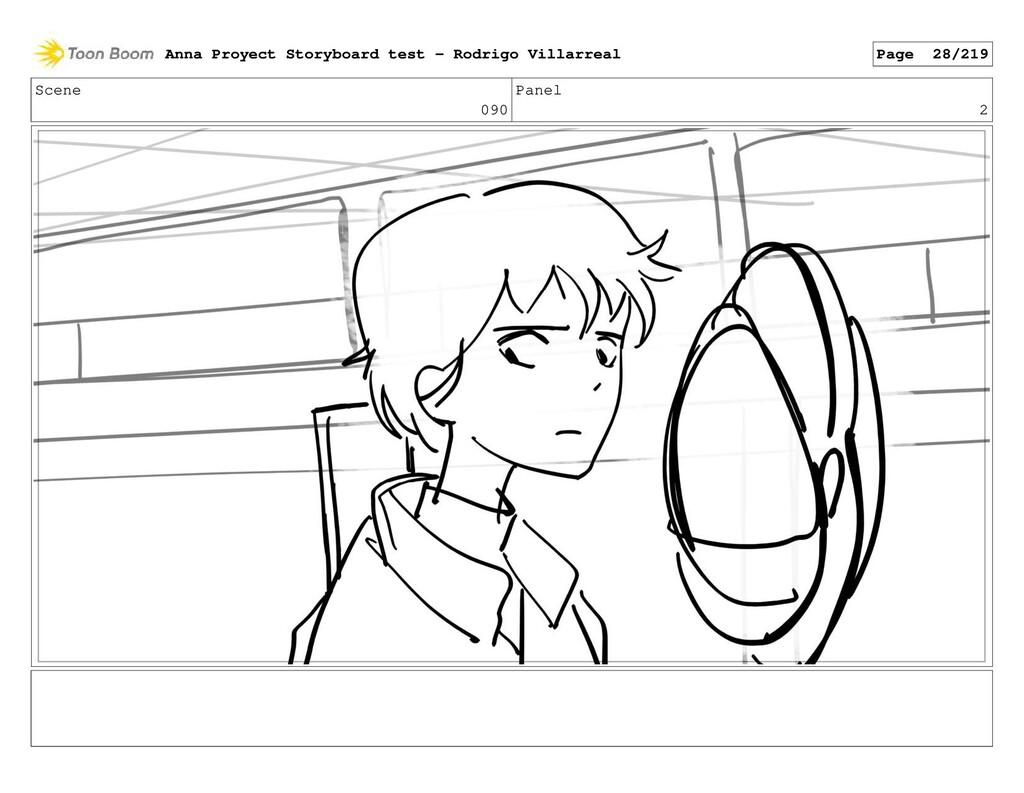 Scene 090 Panel 2 Anna Proyect Storyboard test ...