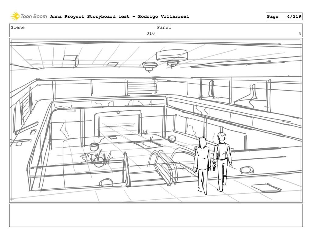 Scene 010 Panel 4 Anna Proyect Storyboard test ...
