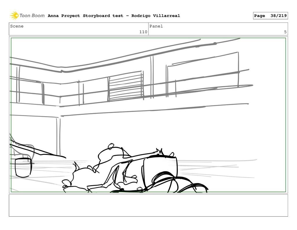 Scene 110 Panel 5 Anna Proyect Storyboard test ...