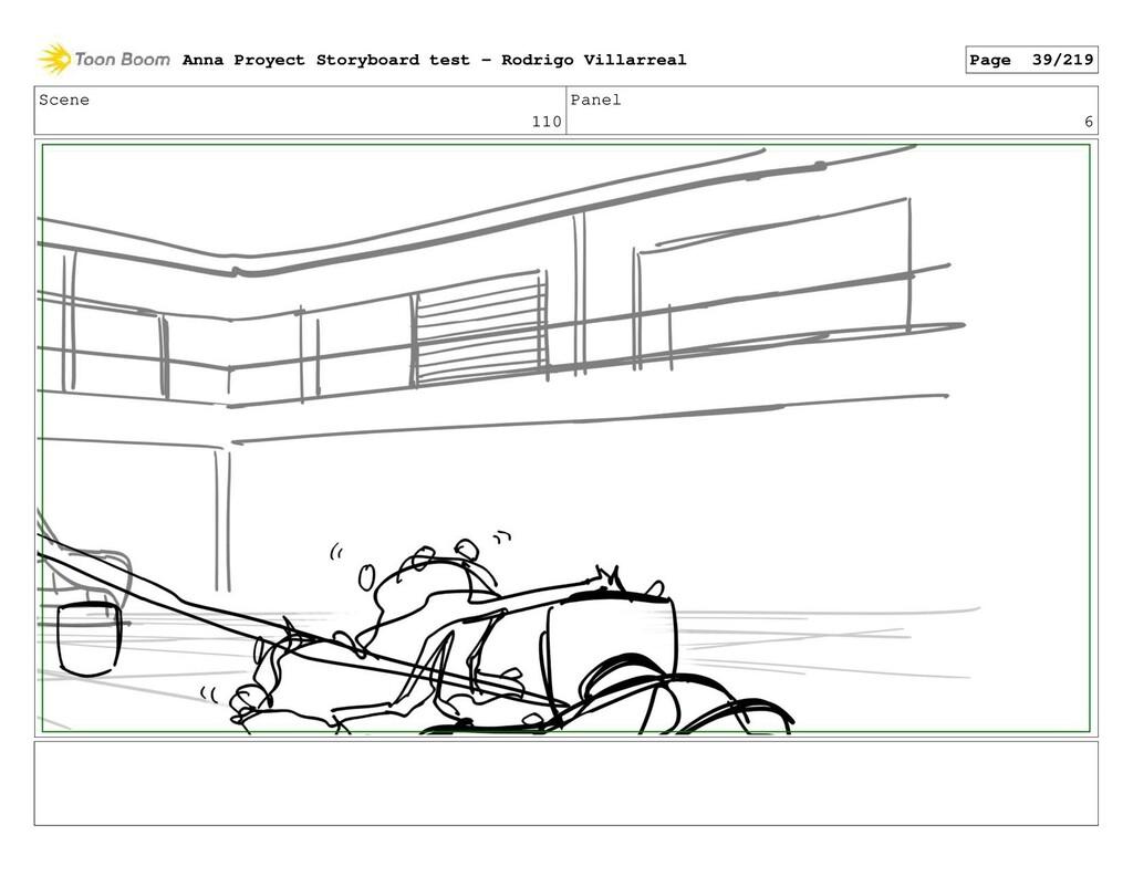 Scene 110 Panel 6 Anna Proyect Storyboard test ...