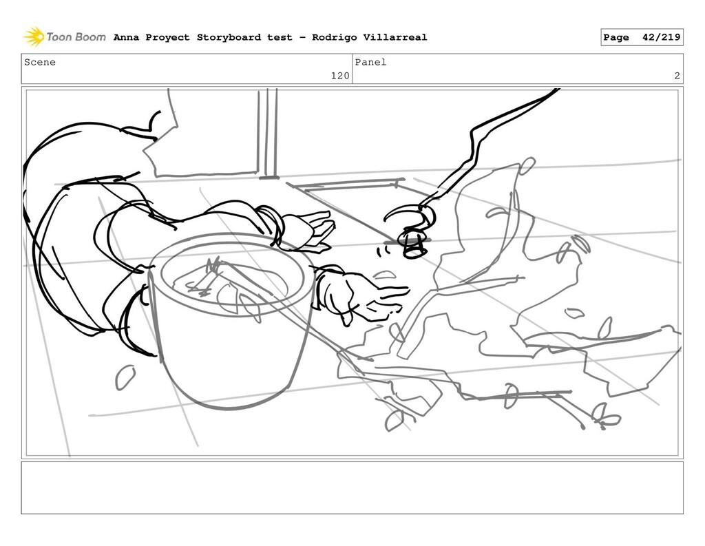 Scene 120 Panel 2 Anna Proyect Storyboard test ...