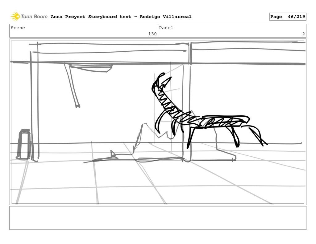 Scene 130 Panel 2 Anna Proyect Storyboard test ...