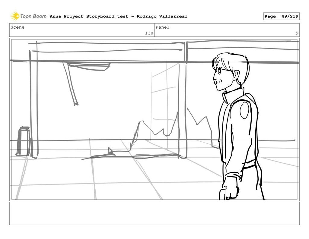 Scene 130 Panel 5 Anna Proyect Storyboard test ...