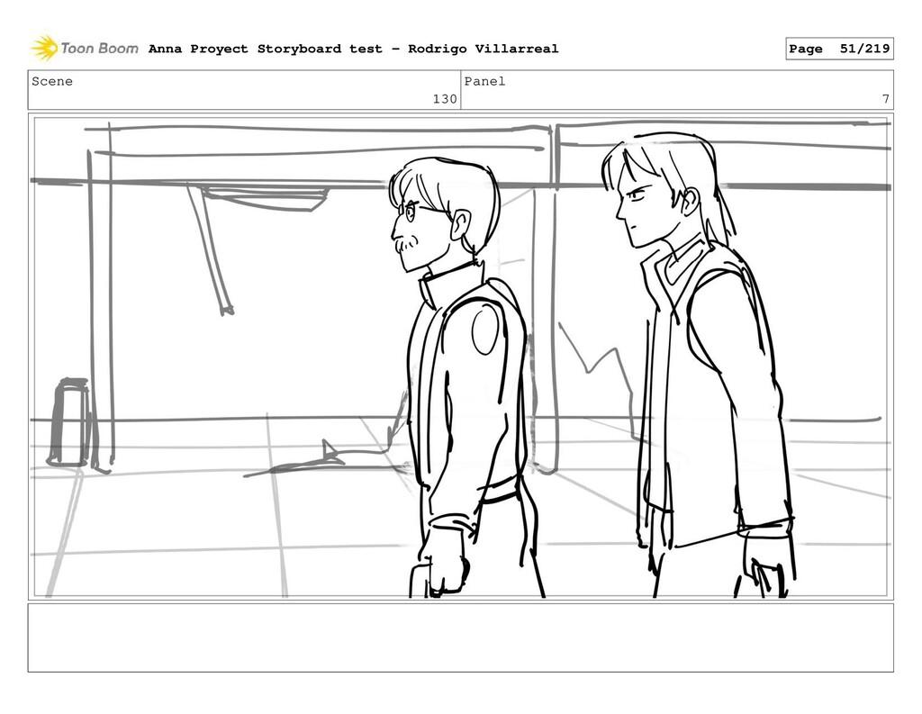 Scene 130 Panel 7 Anna Proyect Storyboard test ...