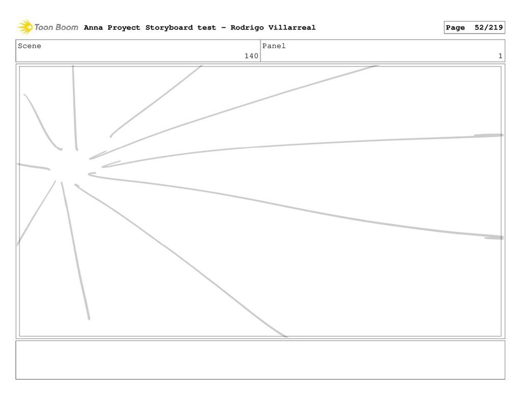 Scene 140 Panel 1 Anna Proyect Storyboard test ...