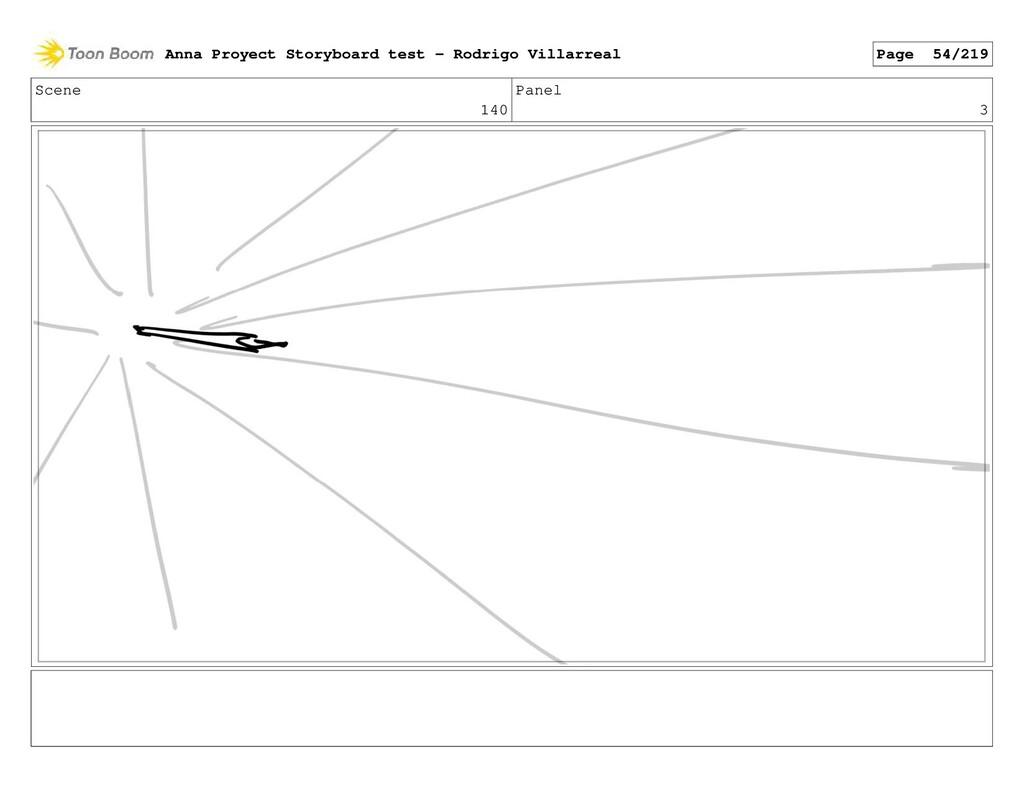 Scene 140 Panel 3 Anna Proyect Storyboard test ...