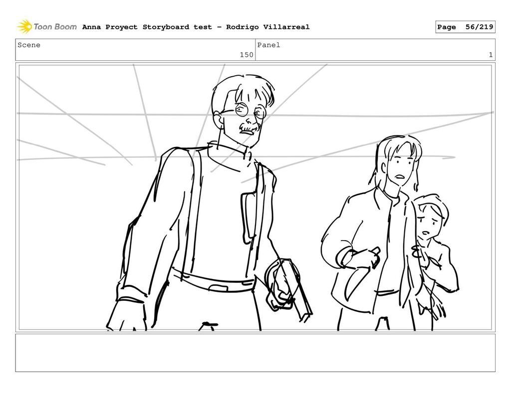 Scene 150 Panel 1 Anna Proyect Storyboard test ...