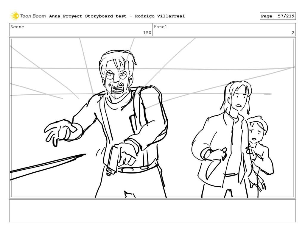 Scene 150 Panel 2 Anna Proyect Storyboard test ...