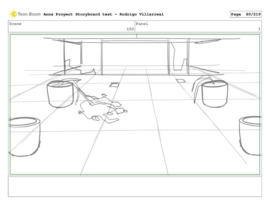 Scene 160 Panel 1 Anna Proyect Storyboard test ...