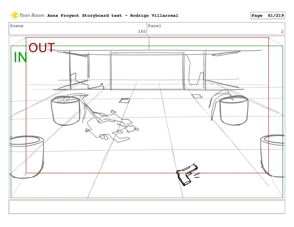 Scene 160 Panel 2 Anna Proyect Storyboard test ...