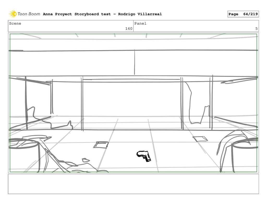 Scene 160 Panel 5 Anna Proyect Storyboard test ...