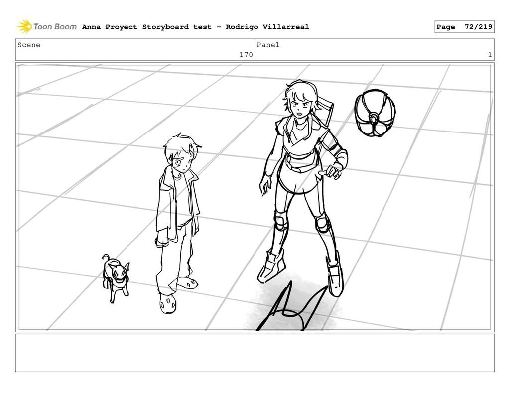 Scene 170 Panel 1 Anna Proyect Storyboard test ...