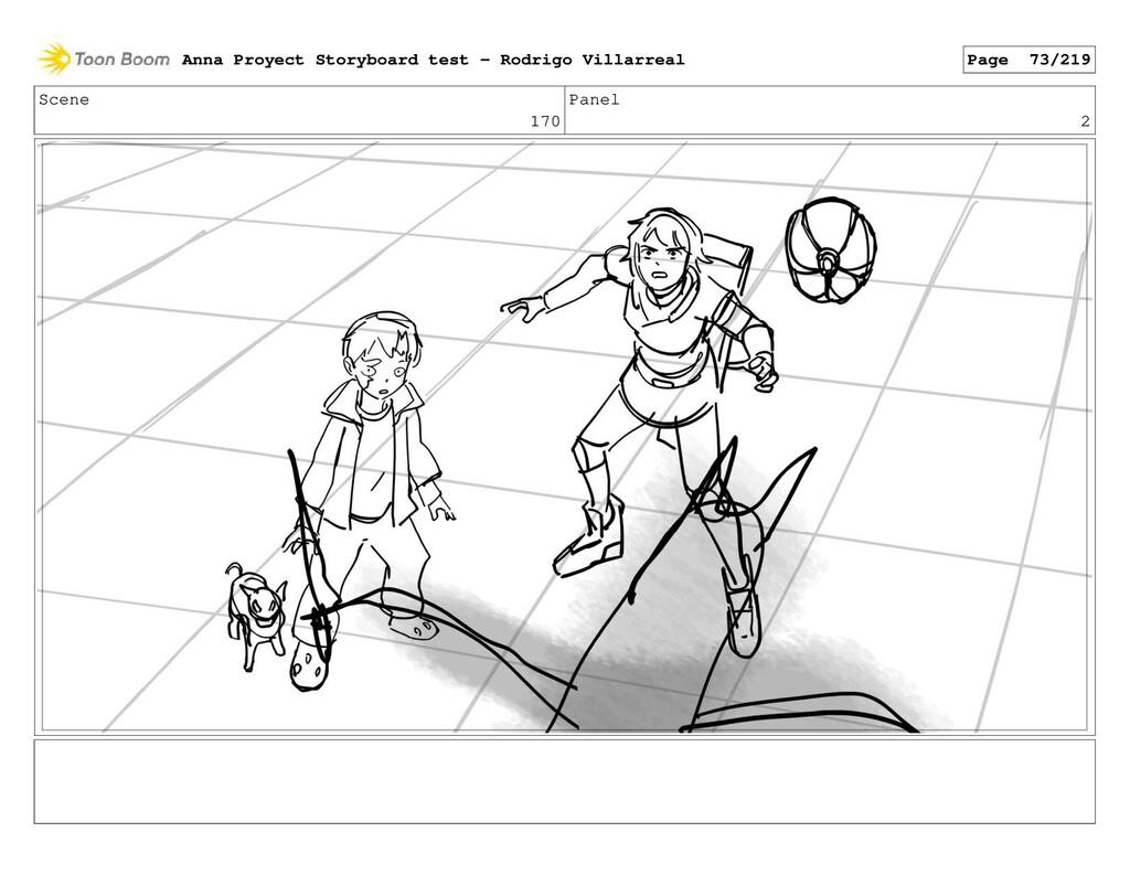 Scene 170 Panel 2 Anna Proyect Storyboard test ...