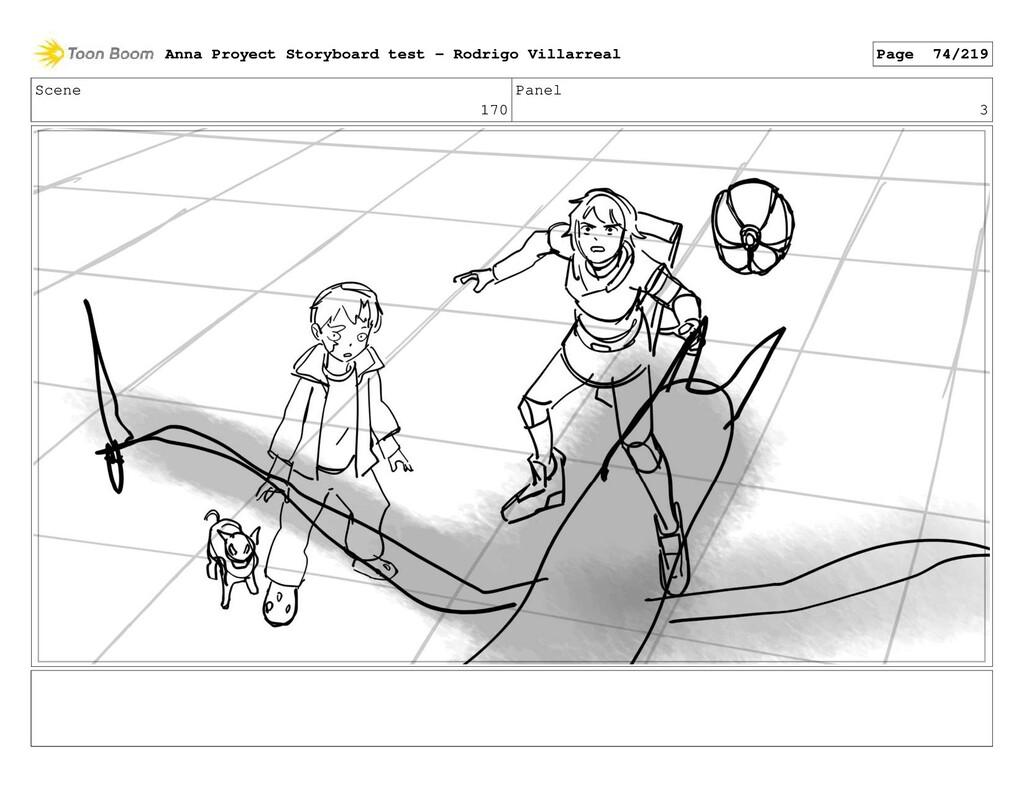 Scene 170 Panel 3 Anna Proyect Storyboard test ...