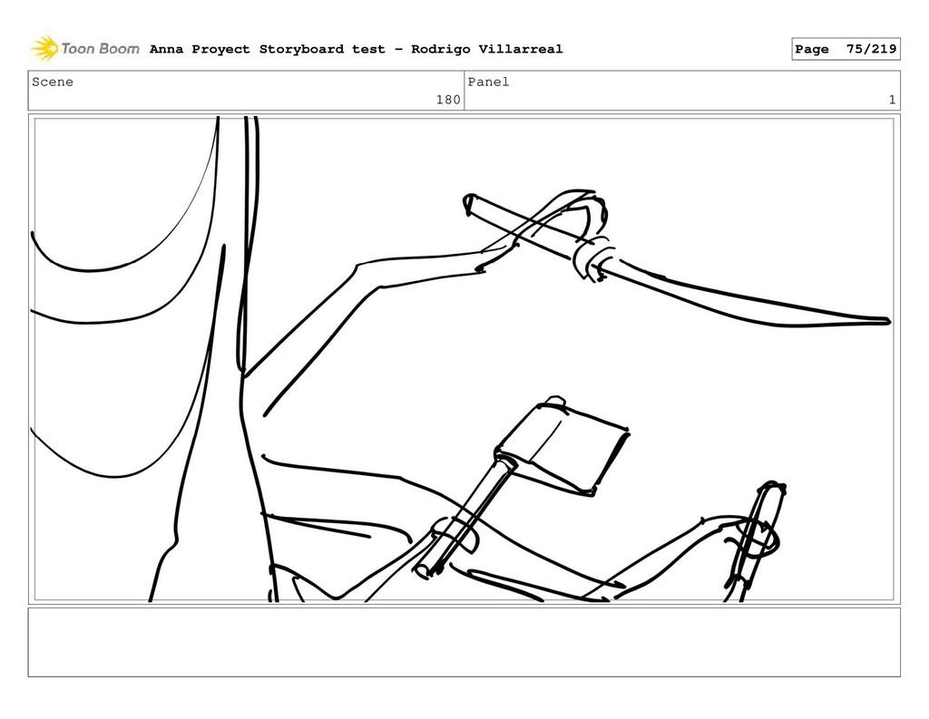 Scene 180 Panel 1 Anna Proyect Storyboard test ...