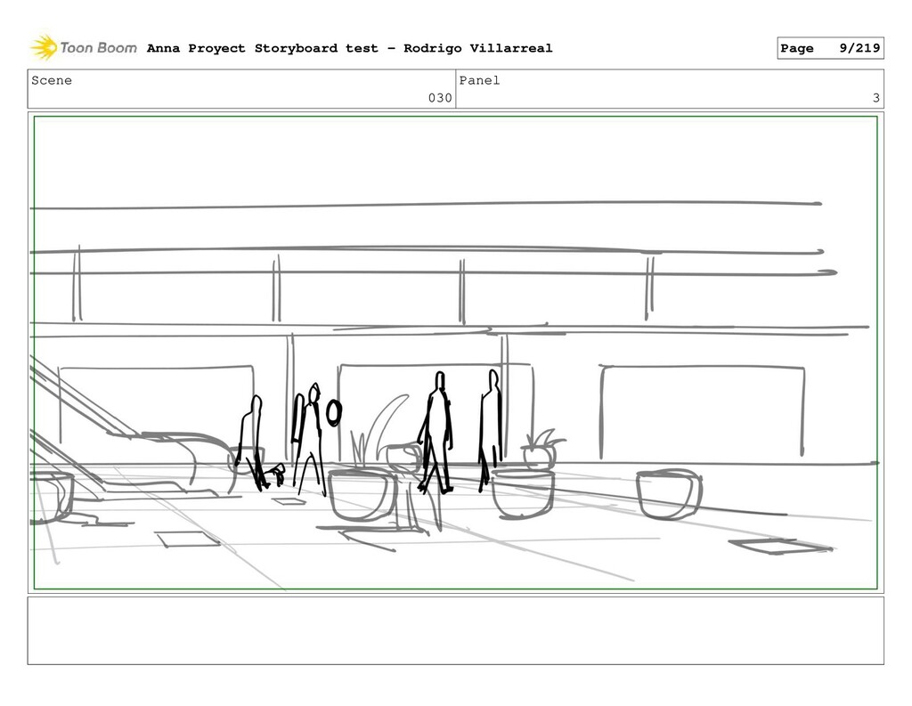 Scene 030 Panel 3 Anna Proyect Storyboard test ...