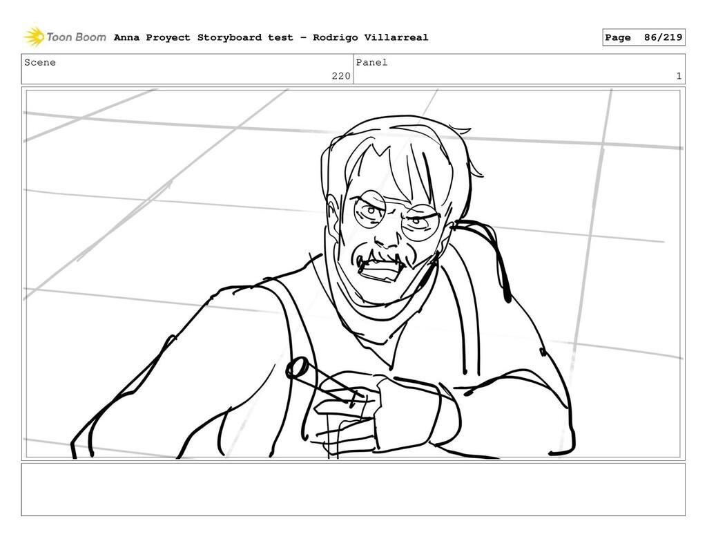 Scene 220 Panel 1 Anna Proyect Storyboard test ...