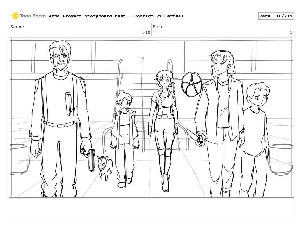 Scene 040 Panel 1 Anna Proyect Storyboard test ...