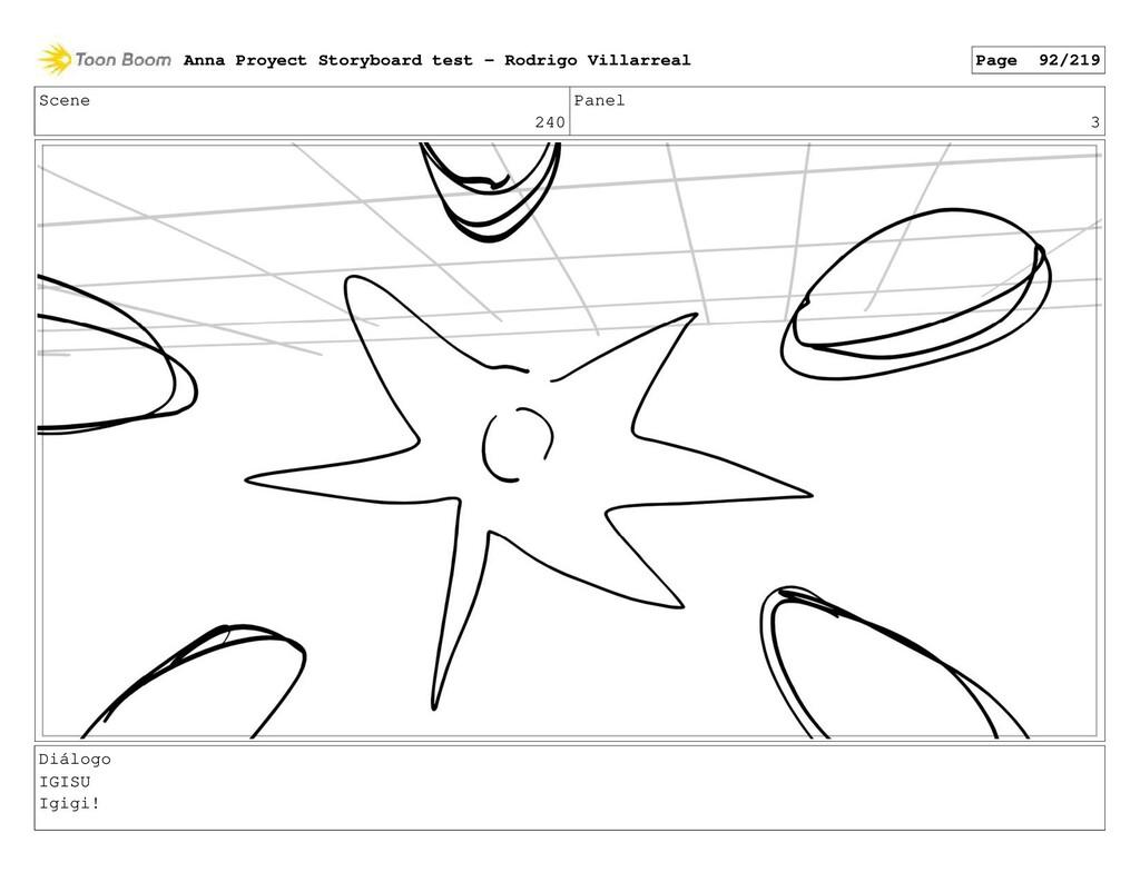 Scene 240 Panel 3 Diálogo IGISU Igigi! Anna Pro...