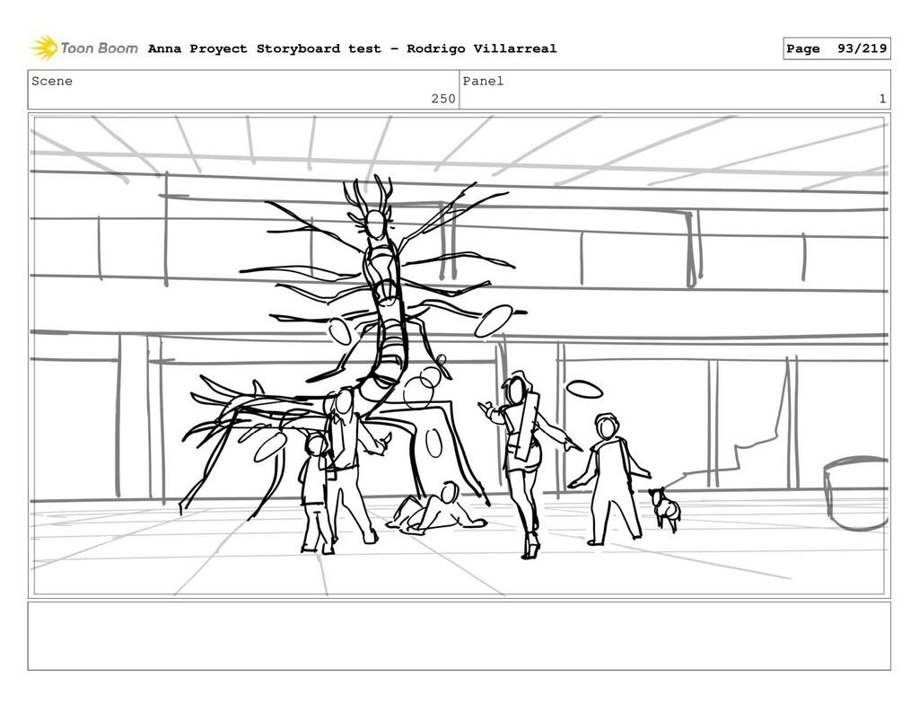 Scene 250 Panel 1 Anna Proyect Storyboard test ...