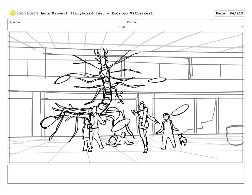Scene 250 Panel 2 Anna Proyect Storyboard test ...