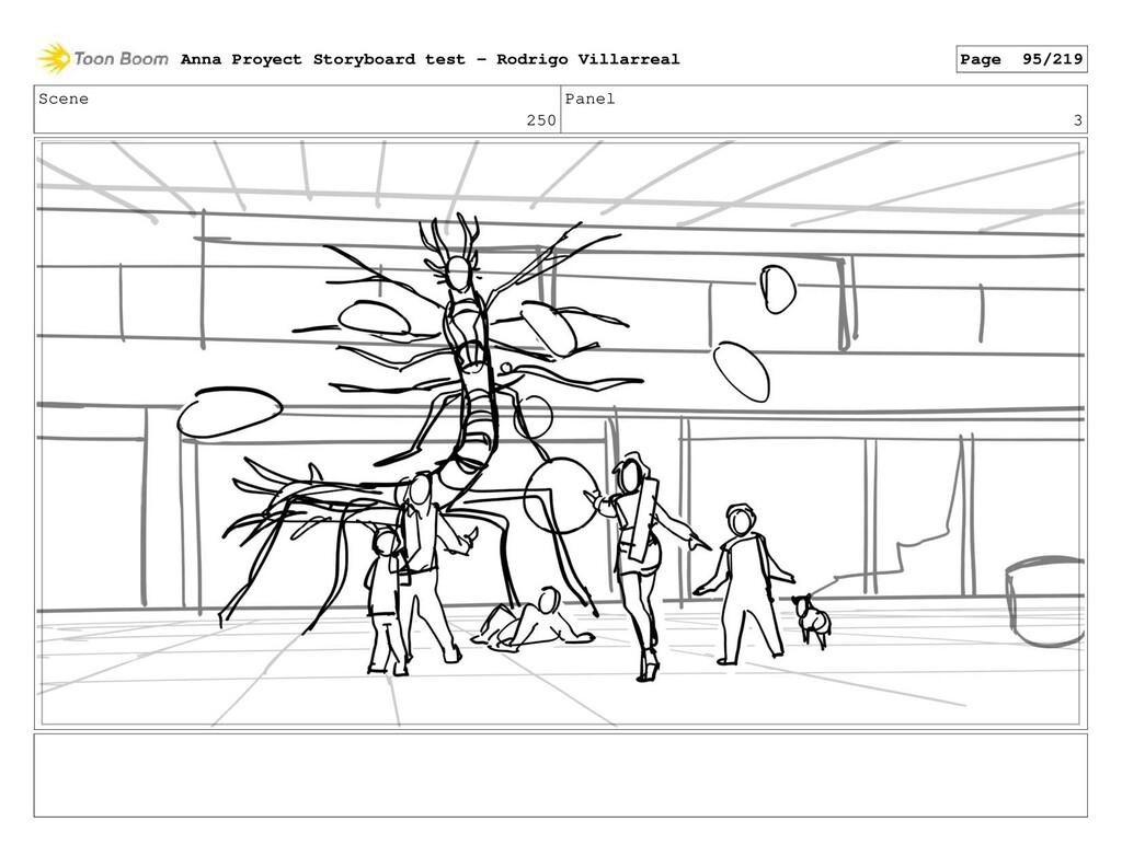 Scene 250 Panel 3 Anna Proyect Storyboard test ...