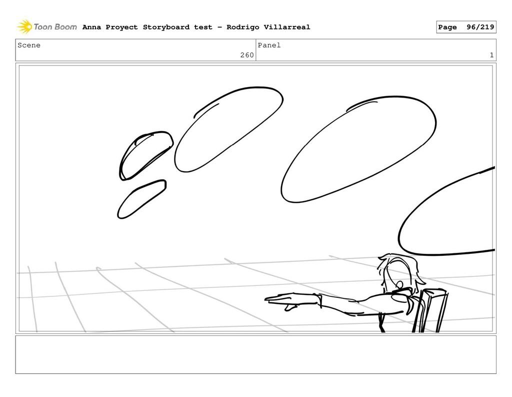 Scene 260 Panel 1 Anna Proyect Storyboard test ...