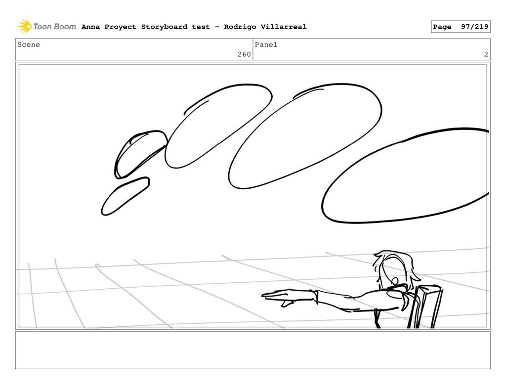 Scene 260 Panel 2 Anna Proyect Storyboard test ...