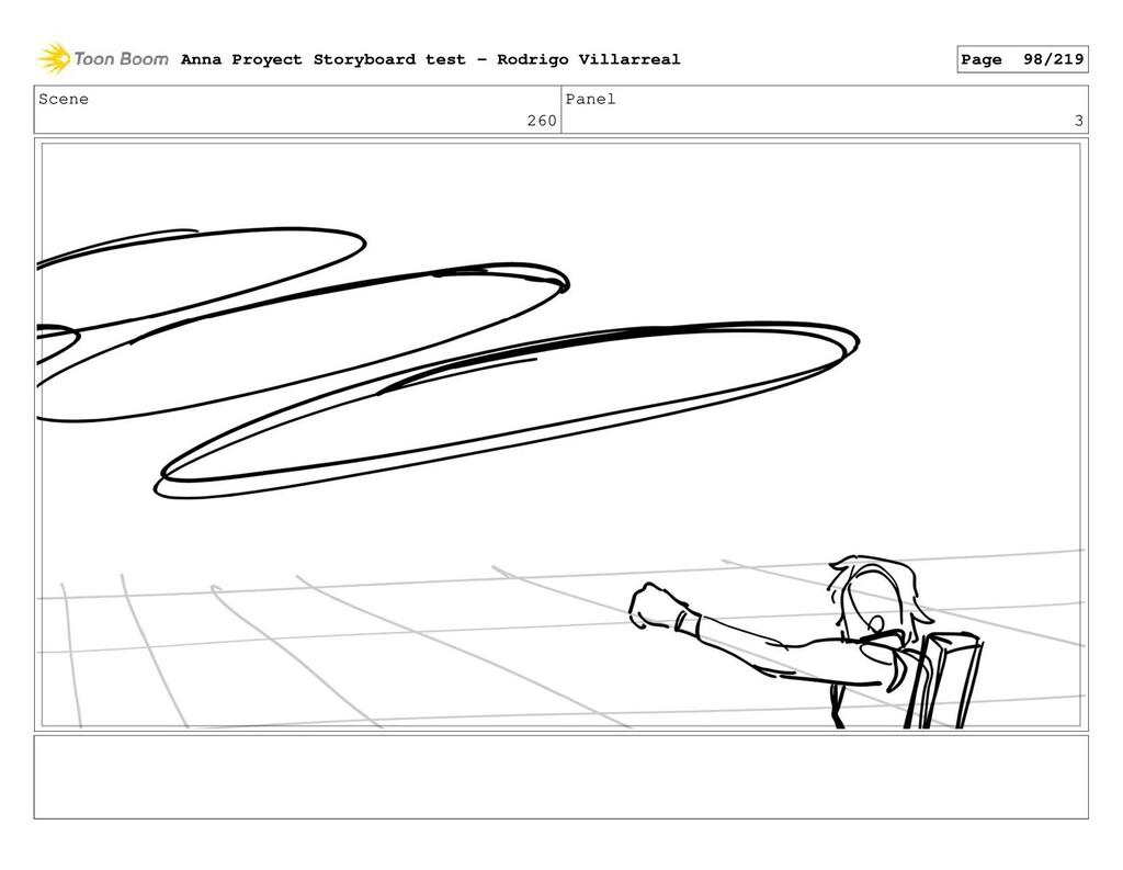 Scene 260 Panel 3 Anna Proyect Storyboard test ...