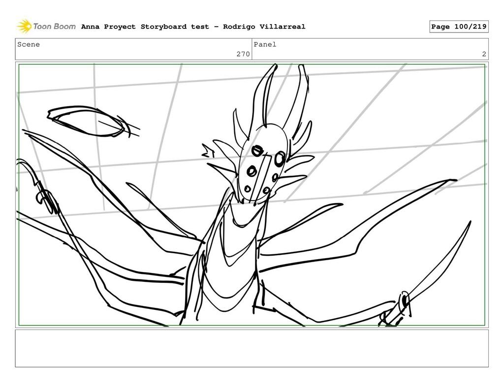 Scene 270 Panel 2 Anna Proyect Storyboard test ...