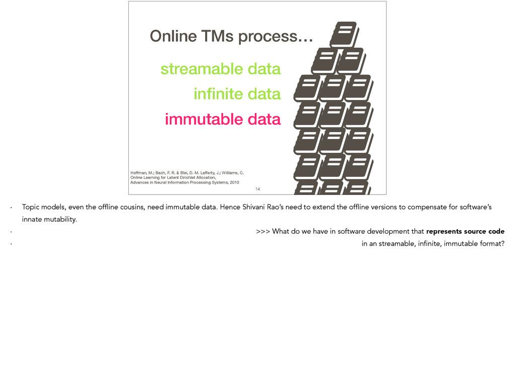 14 immutable data , streamable data infinite dat...
