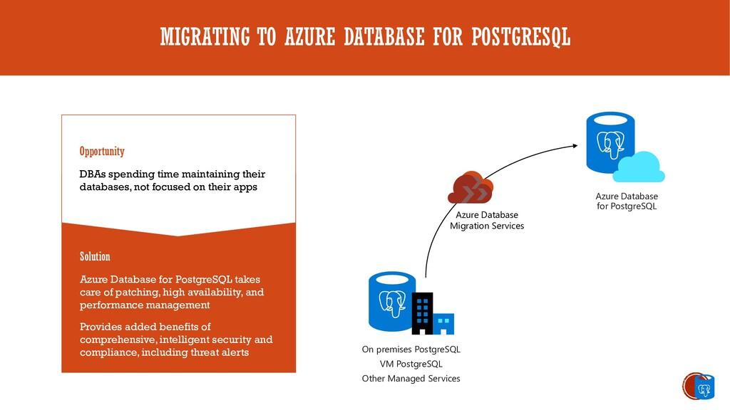 MIGRATING TO AZURE DATABASE FOR POSTGRESQL Oppo...