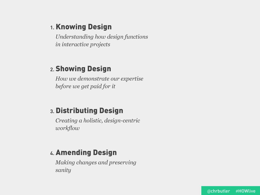 Understanding how design functions in interacti...