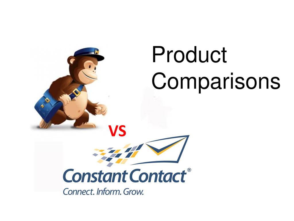 Product Comparisons VS