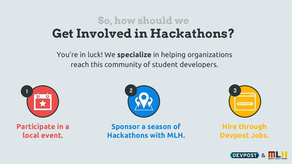 & So, how should we Get Involved in Hackathons?...
