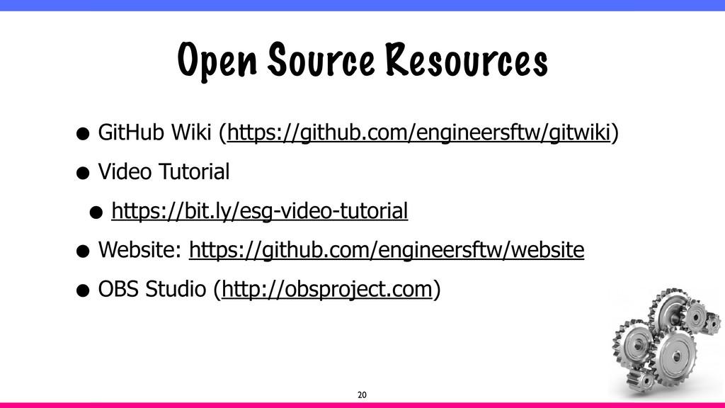 Open Source Resources • GitHub Wiki (https://gi...