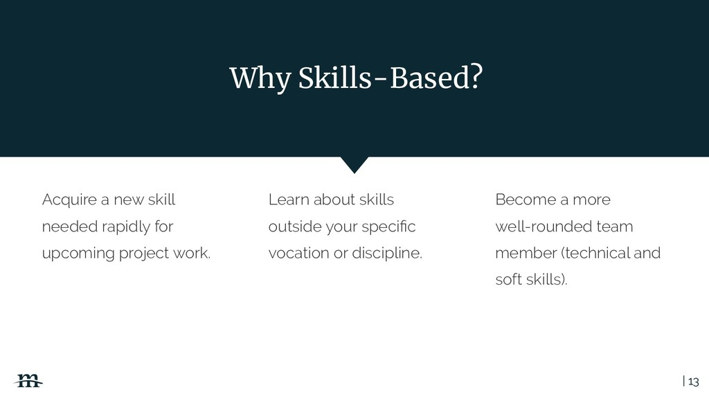 | 13 Learn about skills outside your specific vo...