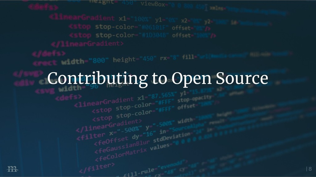 | 8 Contributing to Open Source