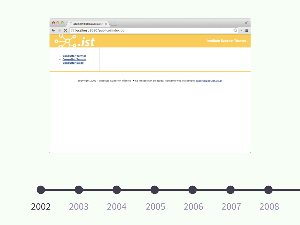 2002 2008 2007 2006 2005 2004 2003